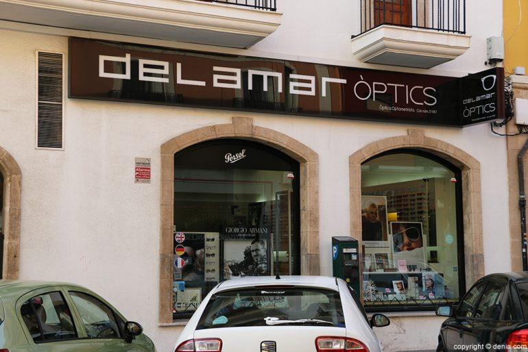 Entrada Delamar Òptics