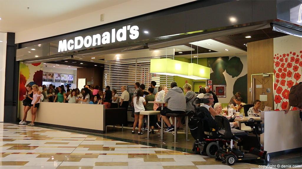 McDonald 's Portal de la Marina