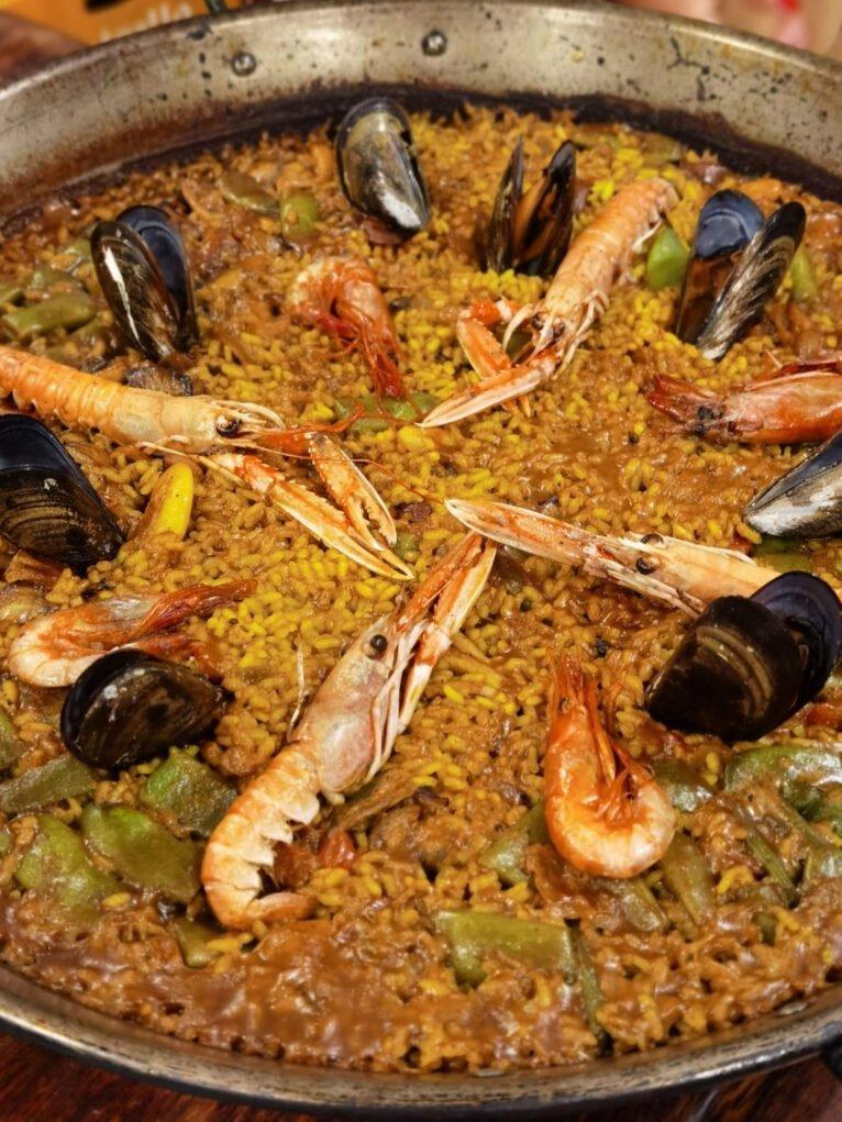Paella de marisco en Dénia - La Cuina de Pepa