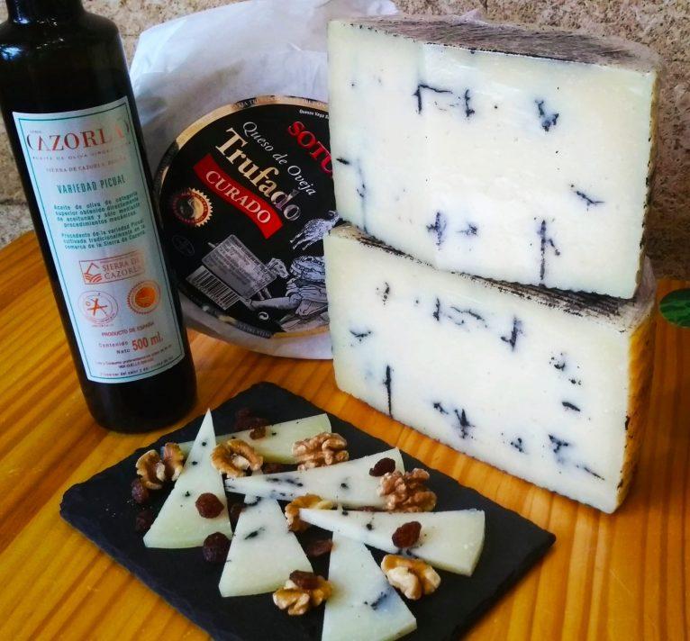 Fromage et vin à El Mosset