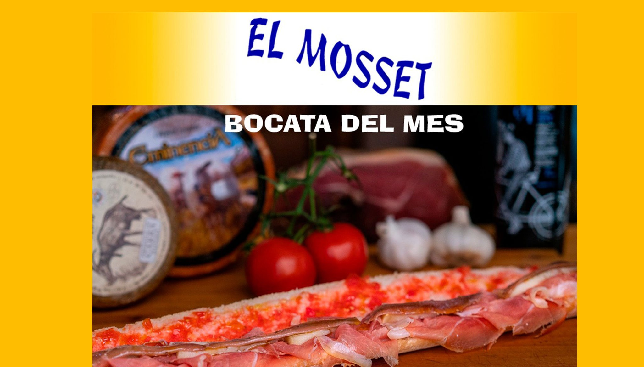 El Mosset raffle: one lunch for two