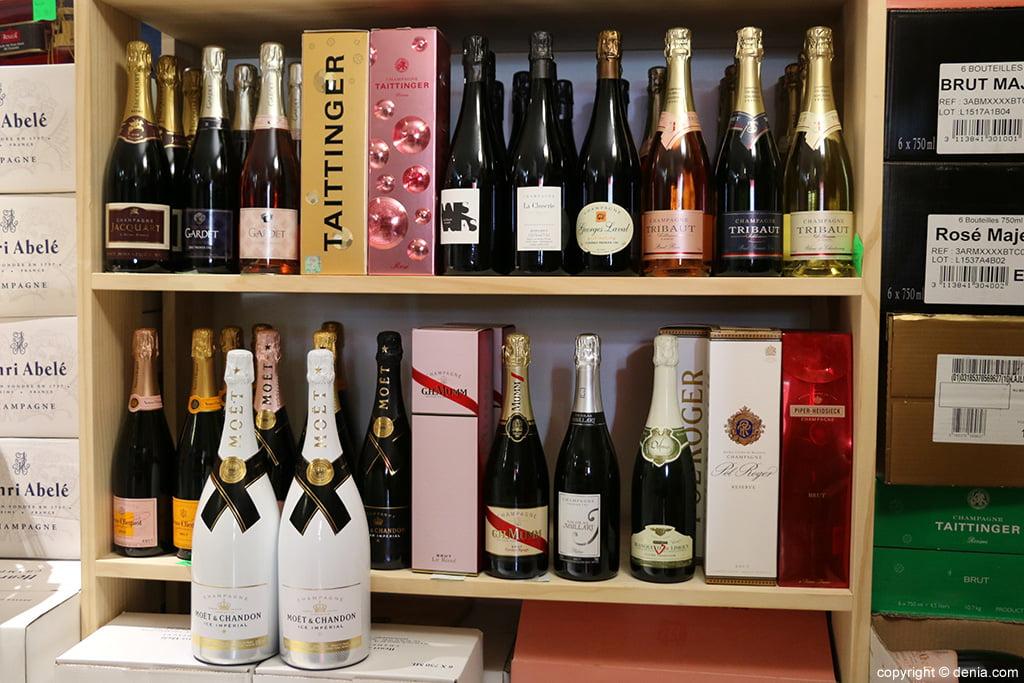 champagne Variété La Bodega de Luis