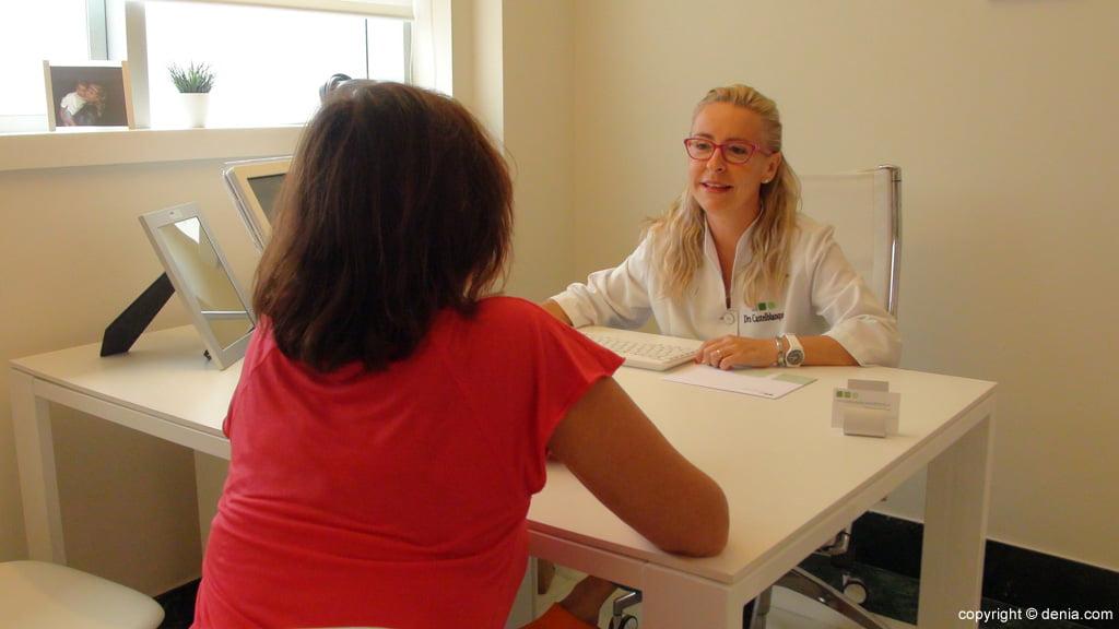 Consulta de la Doctora Laura Castelblanque