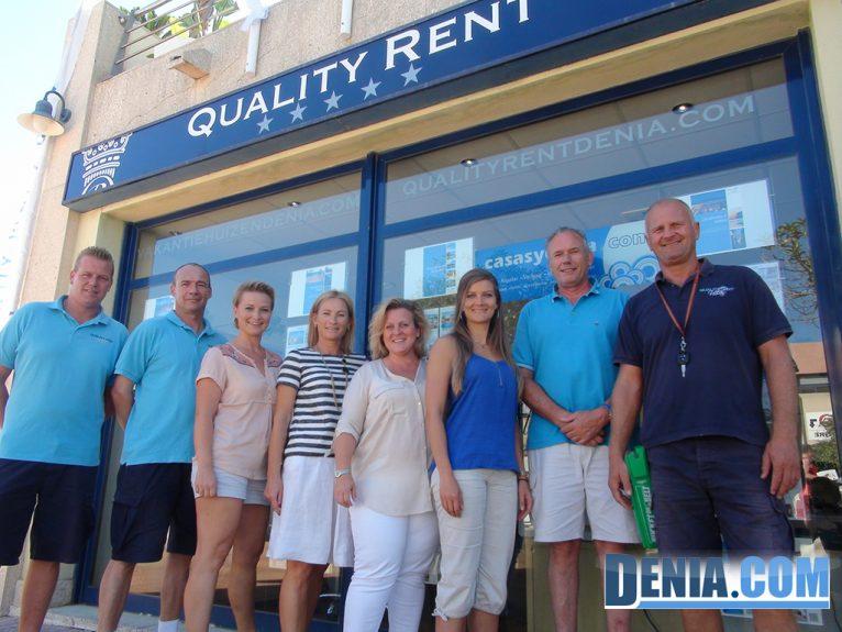 Equipo de Quality Rent en Dénia