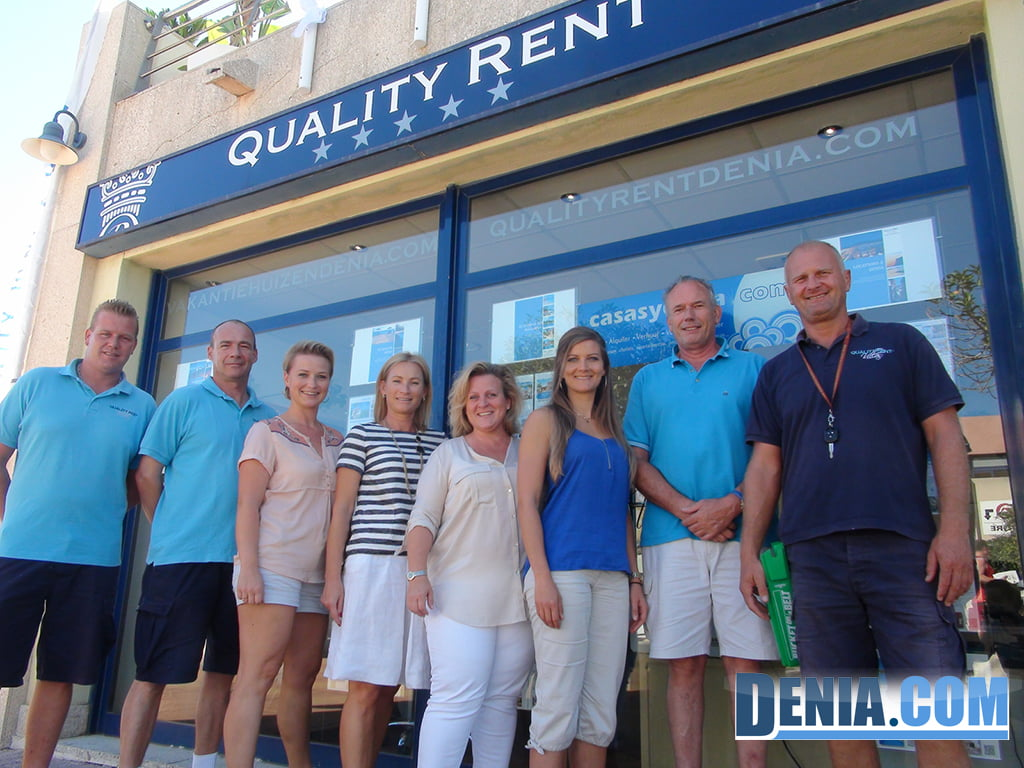 Equip de Quality Rent a Dénia