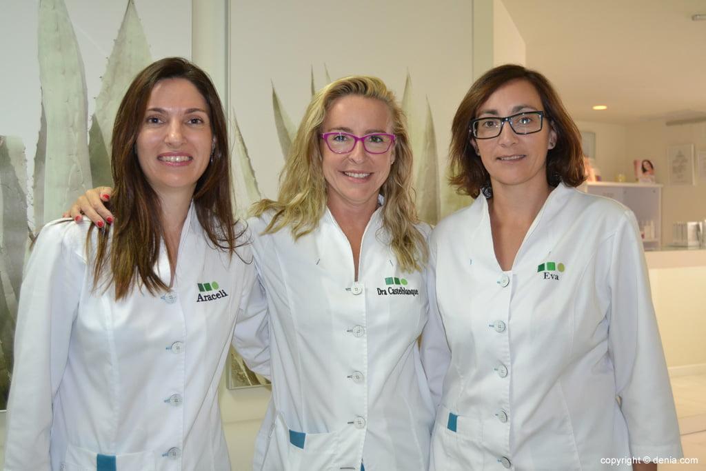 Equipo de la doctora laura Castelblanque