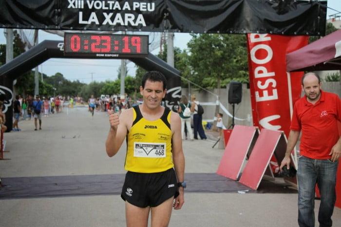 Felipe Rubio fue el vencedor en La Xara