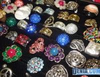 Happy & Funny, complementos y bisuteria, anillos de colores y formas
