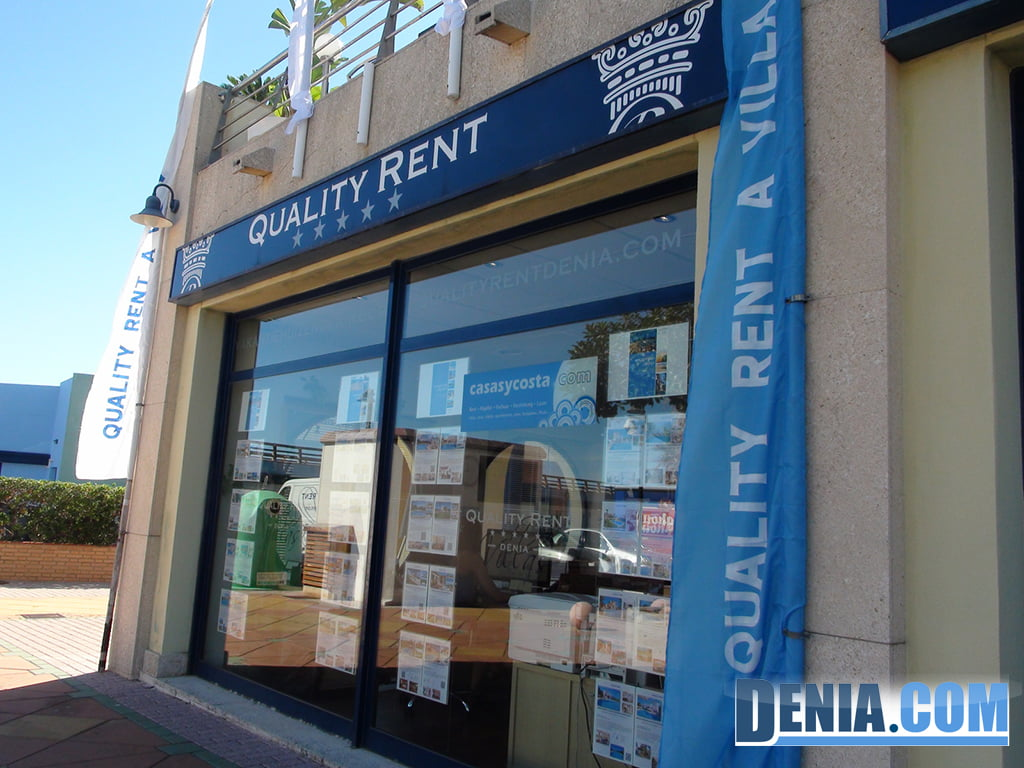 Quality Rent offices in Dénia