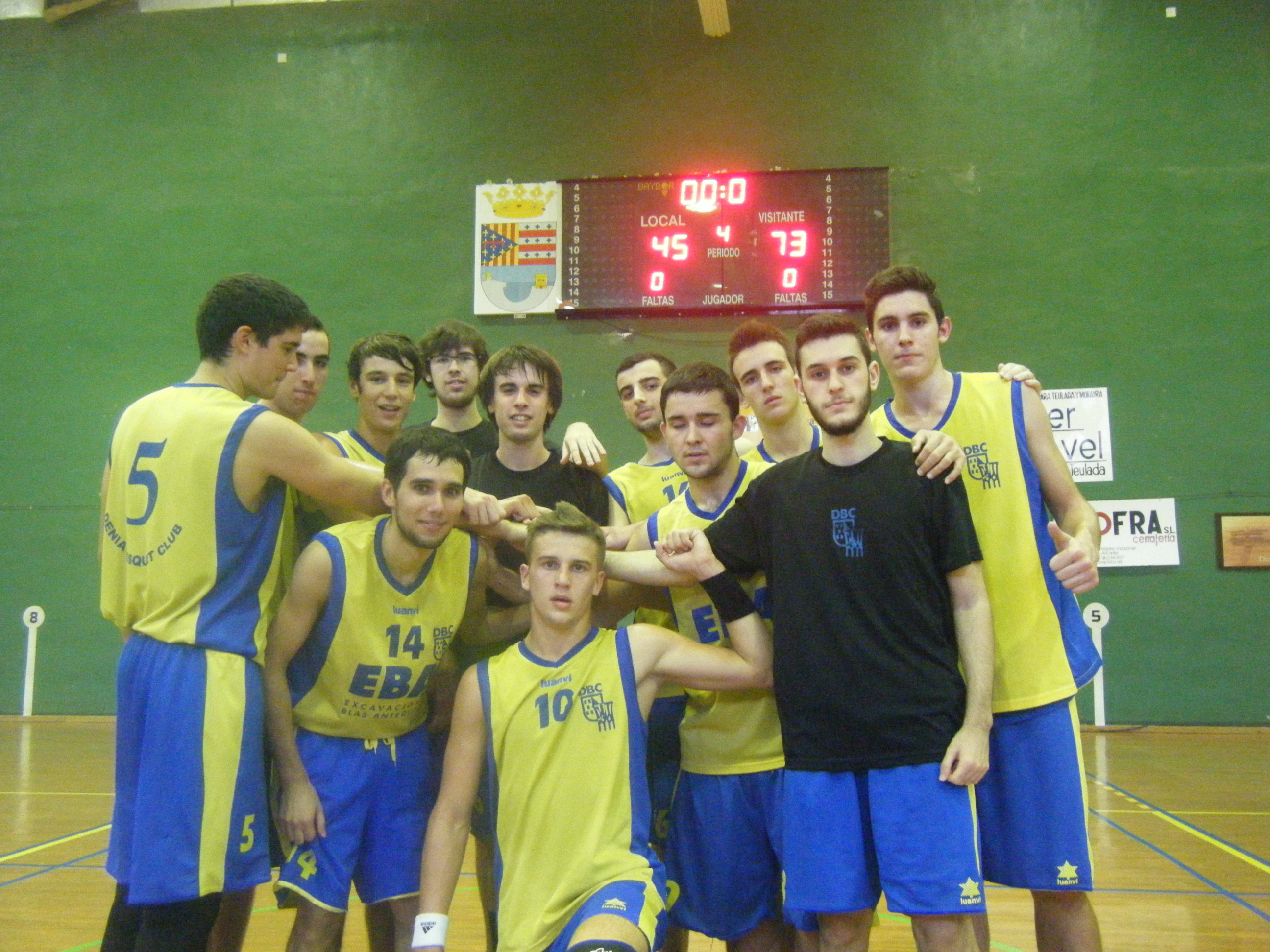 Dénia 21 Sub Basketball League is unstoppable