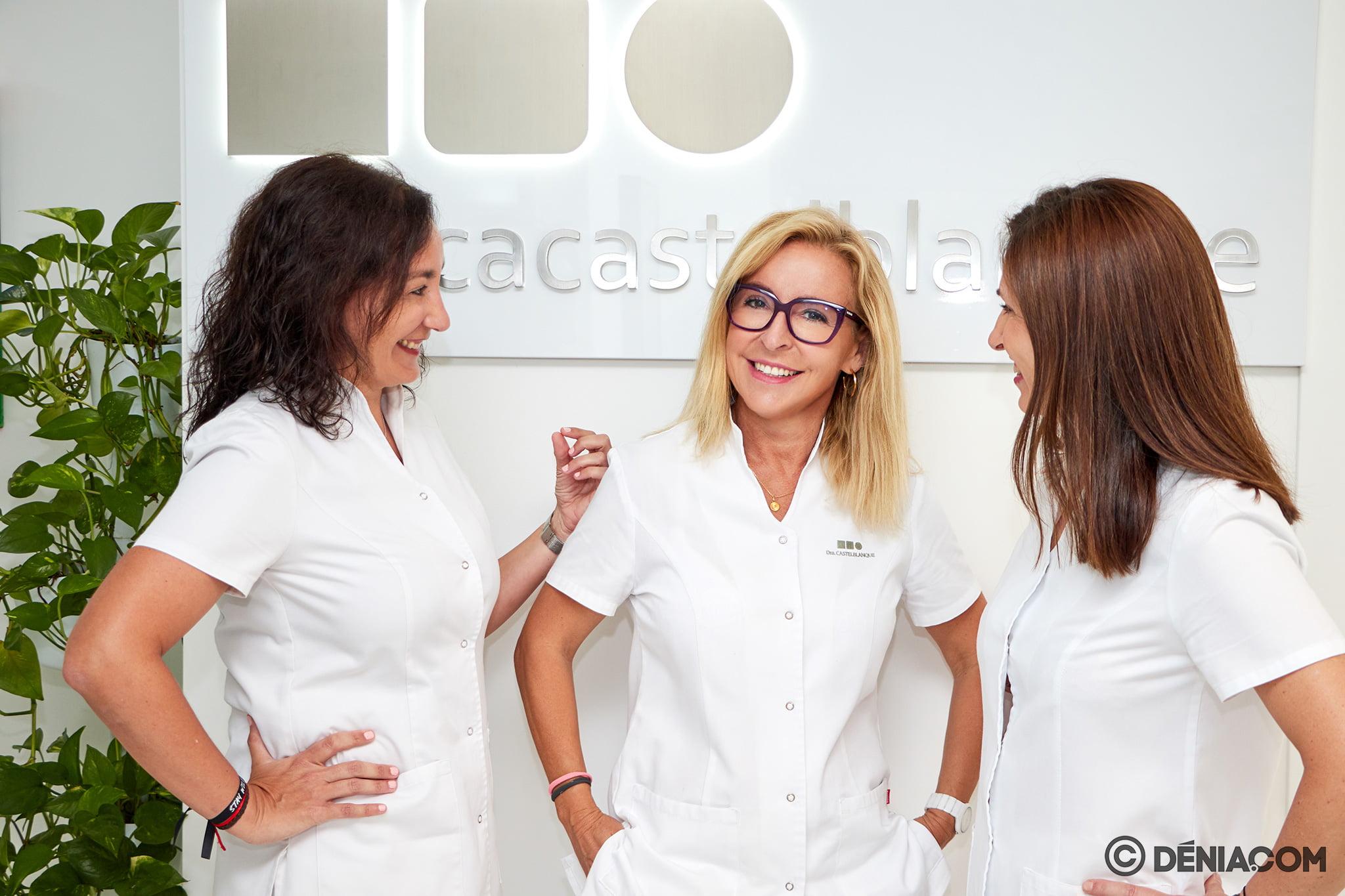 Команда - Clínica Doctora Castelblanque