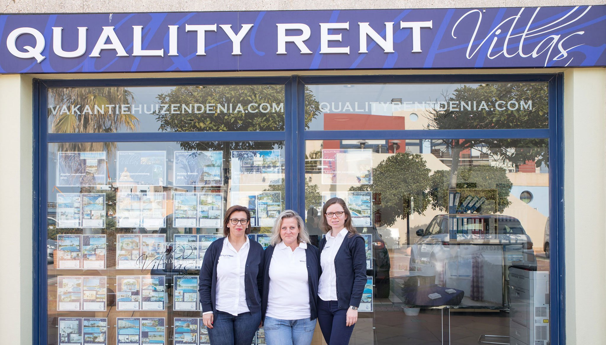 Equipo profesionales Quality Rent a Villa