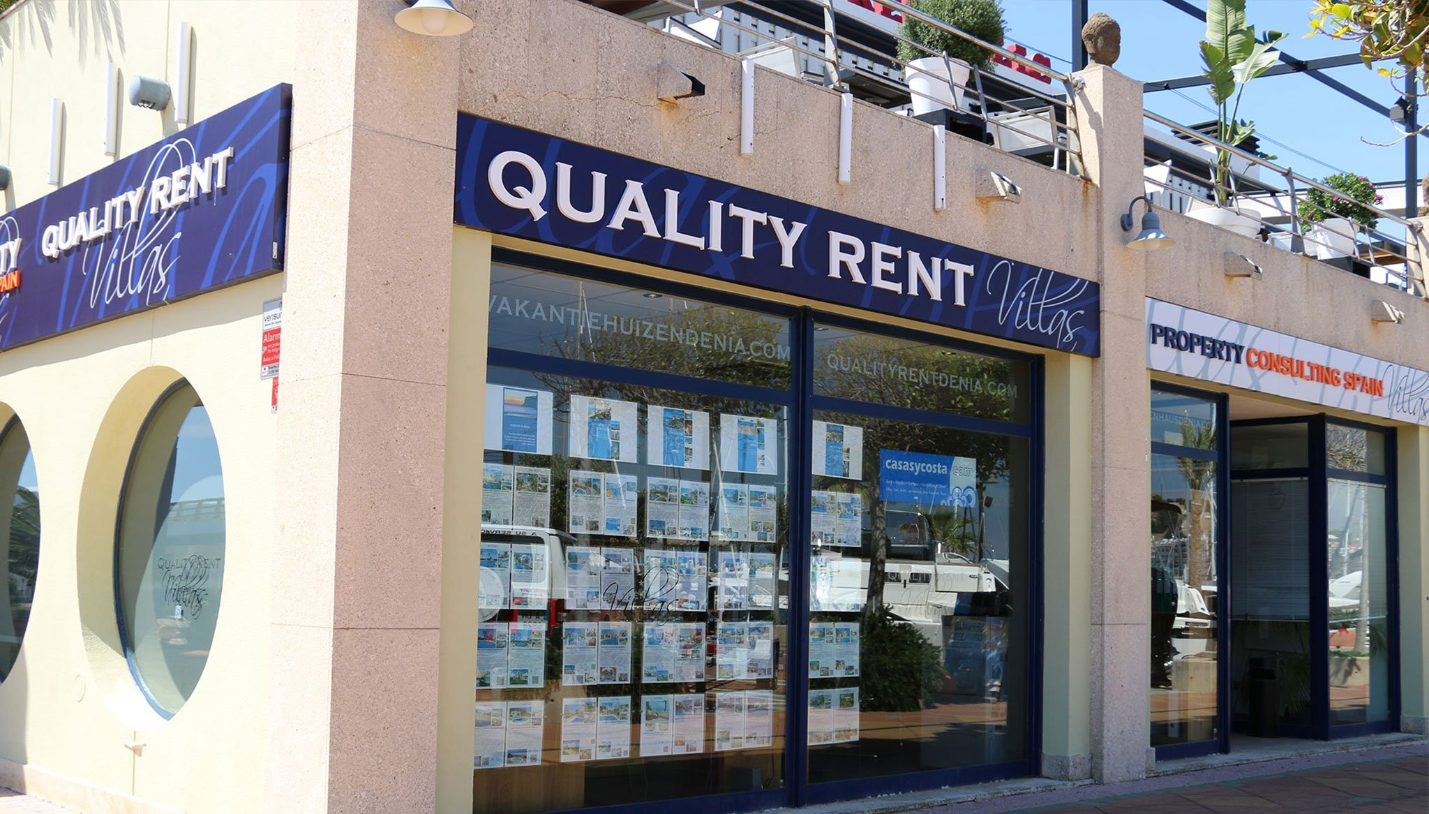 Fachada Quality Rent a Villa