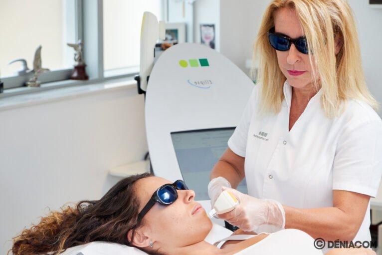 Láser facial - Clínica Doctora Castelblanque