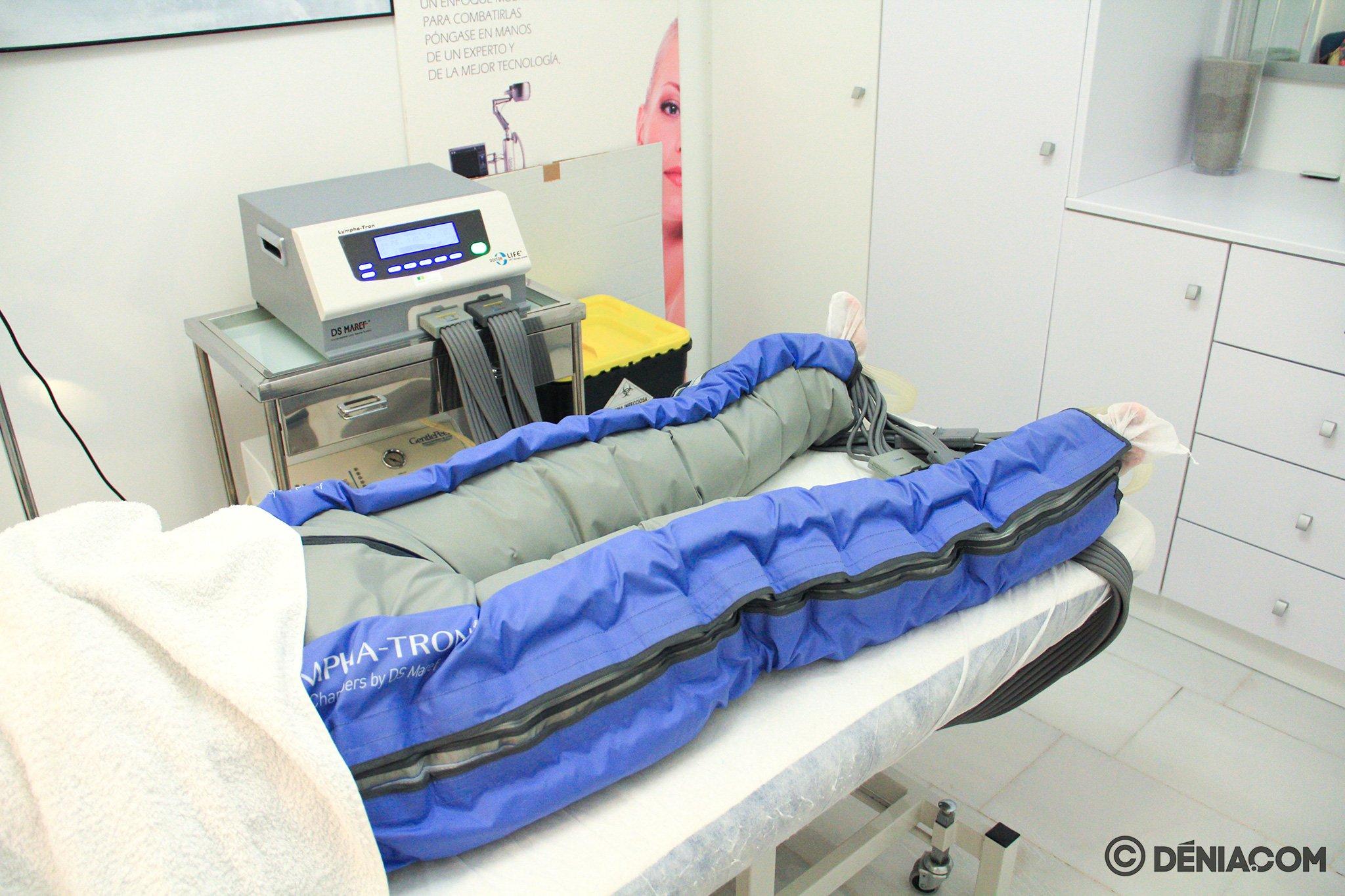 Прессотерапия в Дении - Clínica Doctora Castelblanque
