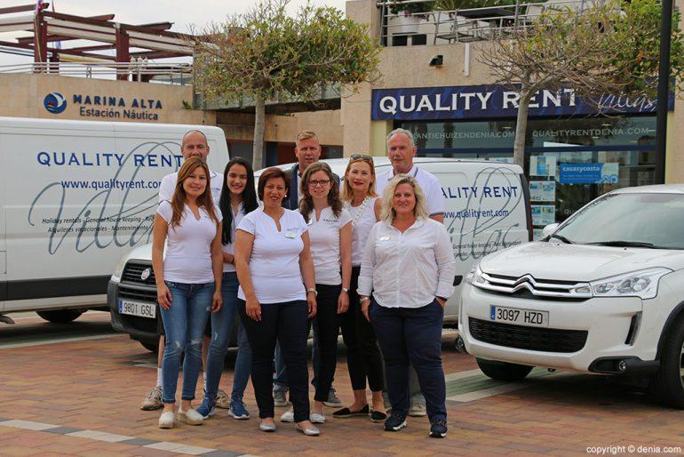 Quality Rent a Vila equip cotxes