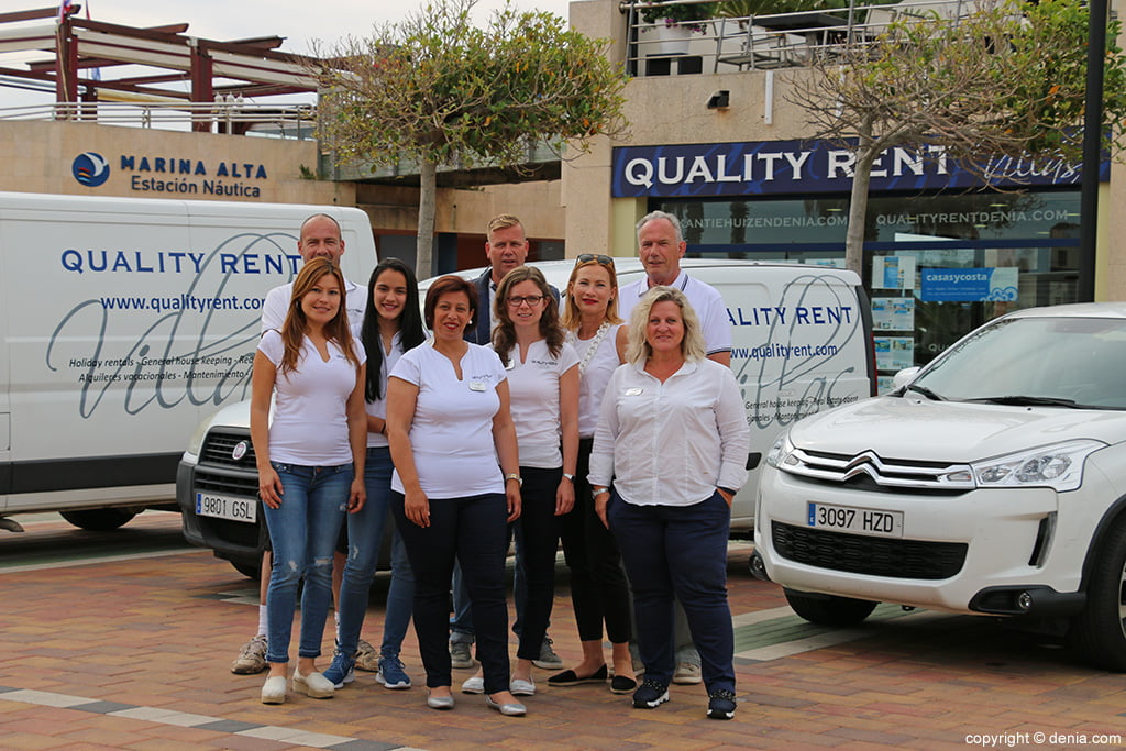 Quality Rent a Villa equipo coches