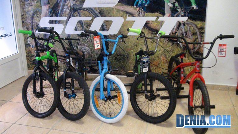 Cicles Desnivell Bicicletes BMX a Dénia