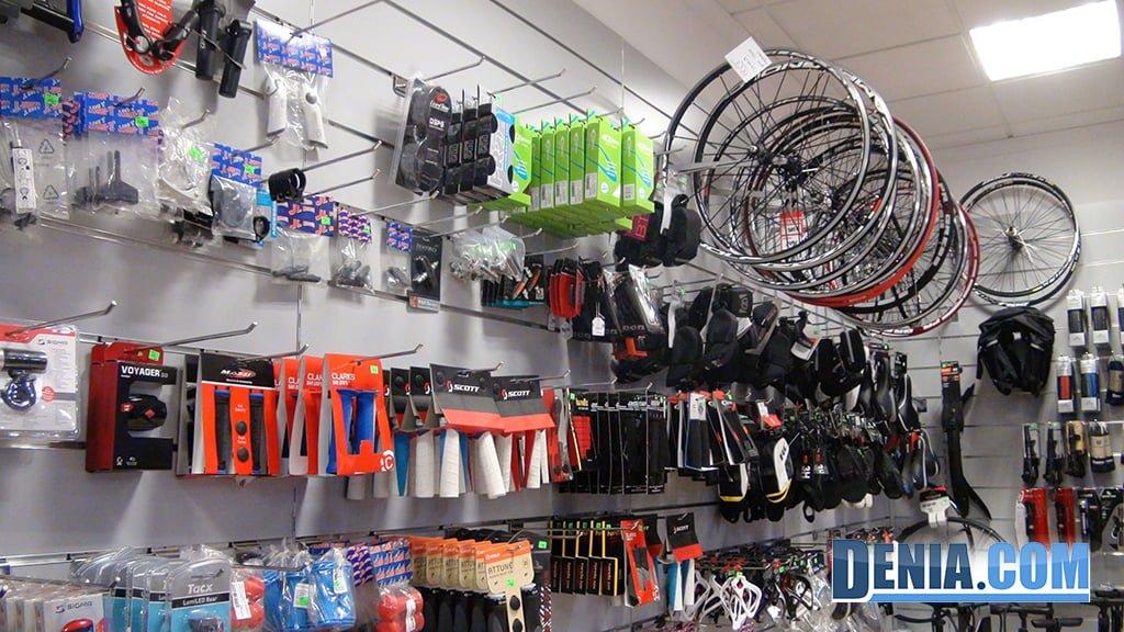 Cicles Desnivell Dénia, accessoris per a la teva bicicleta