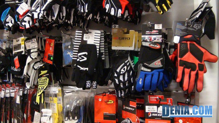 Cicles Desnivell, accesorios para el ciclismo guantes