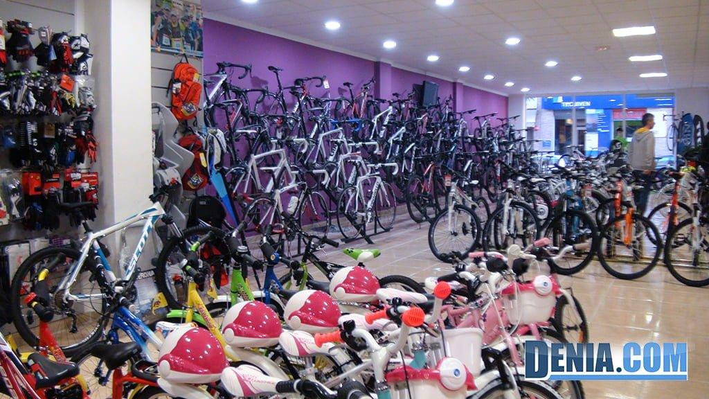 Cicles Desnivell, àmplia exposició de bicicletes per a totes les edats i estils