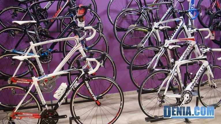 Cicles Desnivell, bicicletes de carretera a Dénia