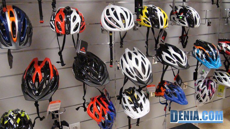 Cicles Desnivell, cascs per bicicleta
