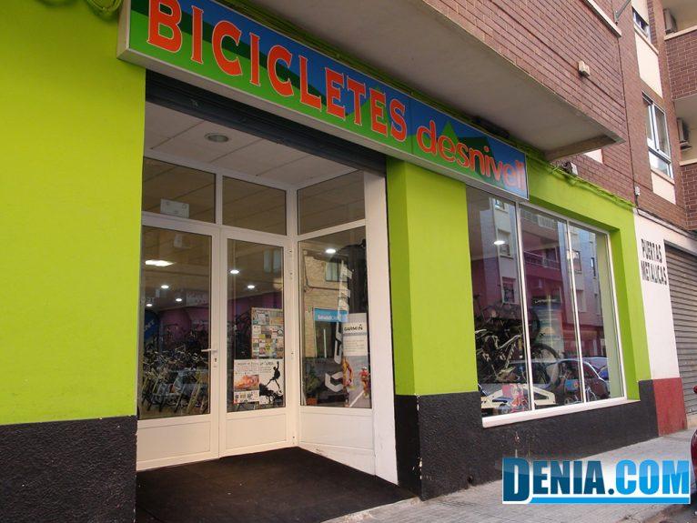 Cicles Desnivell en calle Abu Zeyán Dénia
