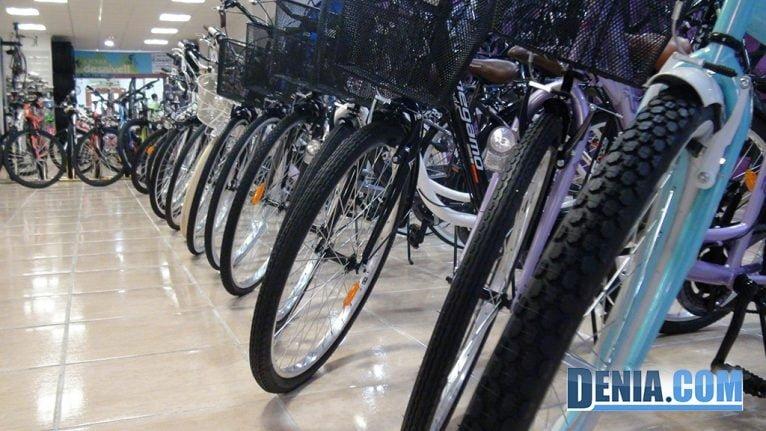 Cicles Desnivell, gran assortiment de bicicletes a Dénia