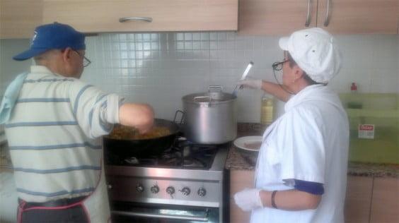 Comedor social la Trinidad en Dénia