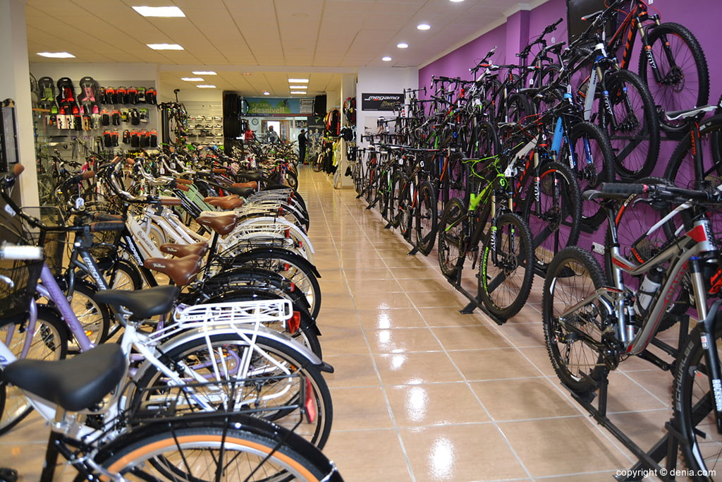 Desnivell - Bicicletes a Dénia