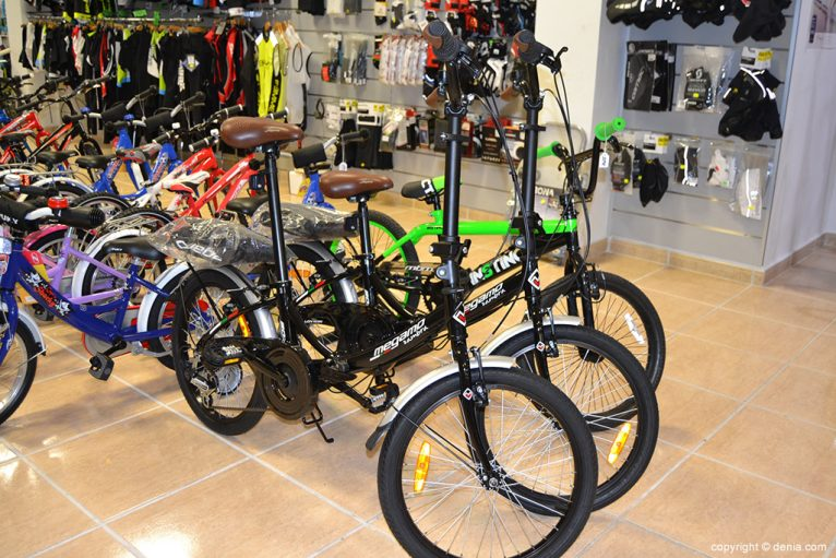 Desnivell - bicicletes Dénia