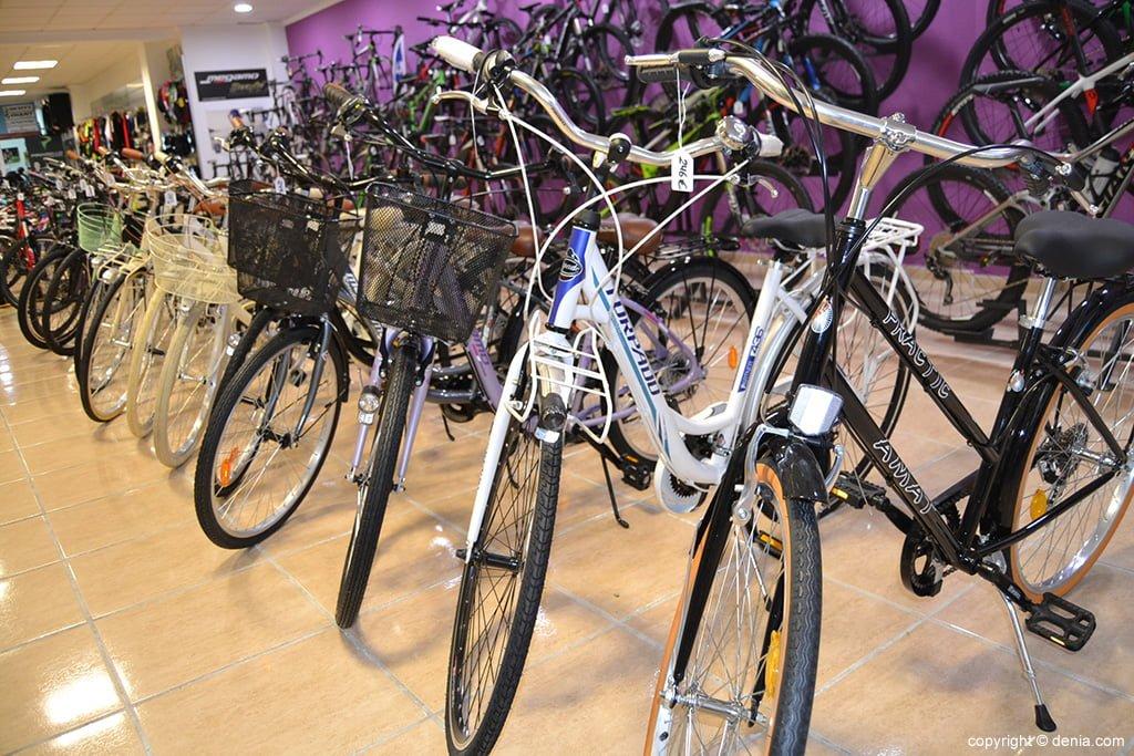 Desnivell - bicicletes de passeig a Dénia