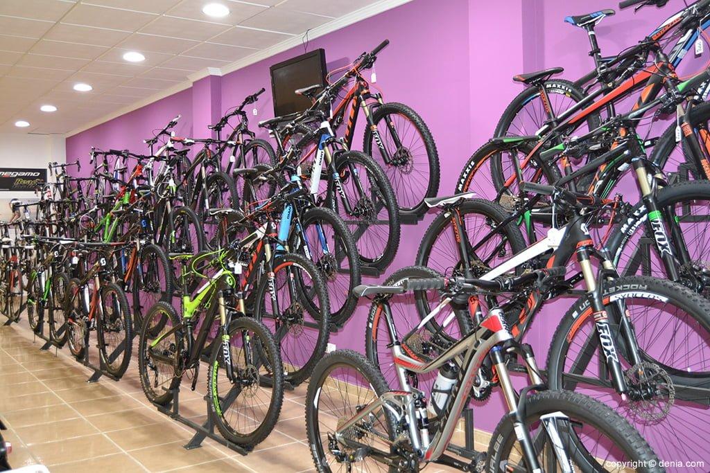 Desnivell - comprar bicicletes a Dénia