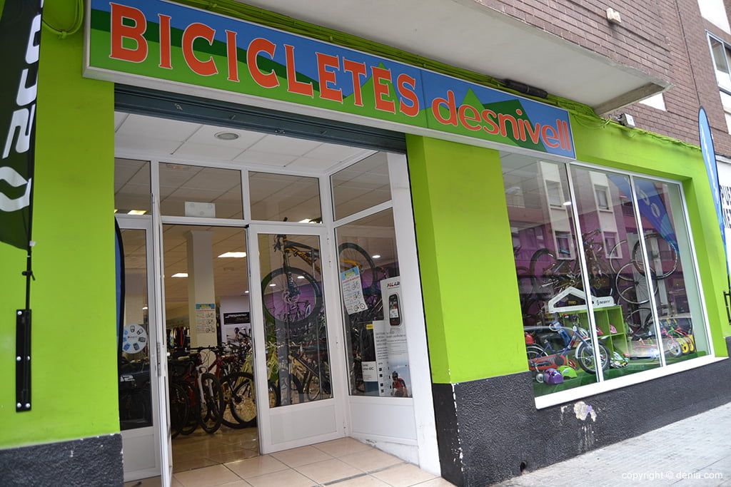 Desnivell – tienda de bicicletas