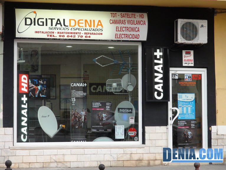 Digitaldenia, en avinguda de Gandia