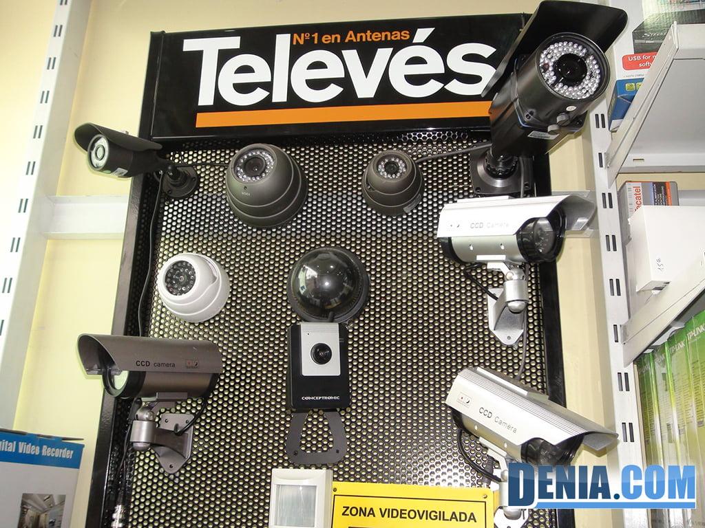 Digitaldenia, l'installation de caméras de surveillance et Videoporteros