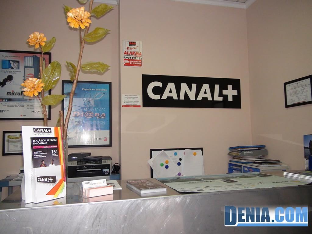 Digitaldenia, installateurs officiels de Canal + dans le quartier de Marina Alta
