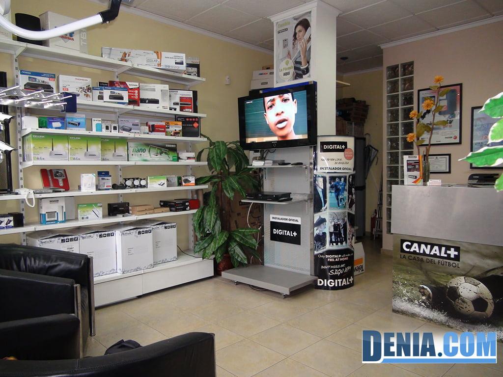 Ditaldenia, servei de telecomunicacions a Dénia