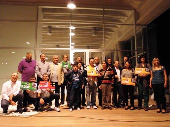 Finalistas de los premios 100x100 Fundació