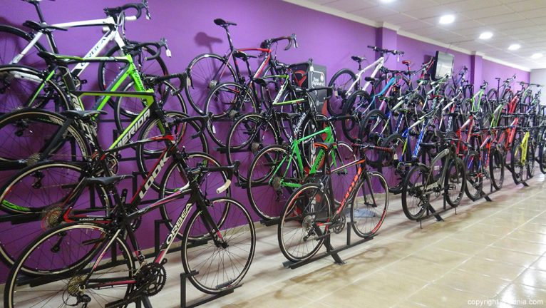 Gran variedad de bicicletas