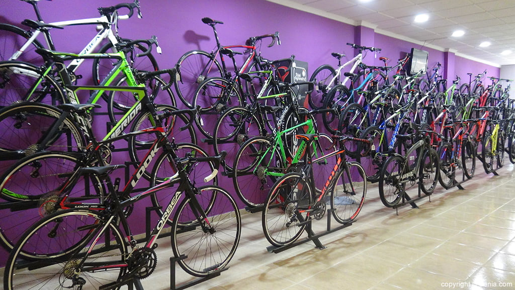 Wide variety of bicycles