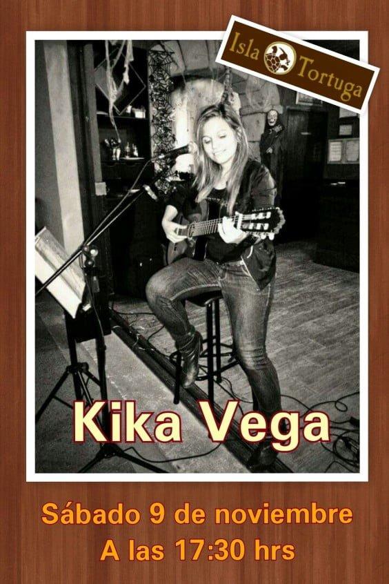 Kika Vega en Isla Tortuga Dénia