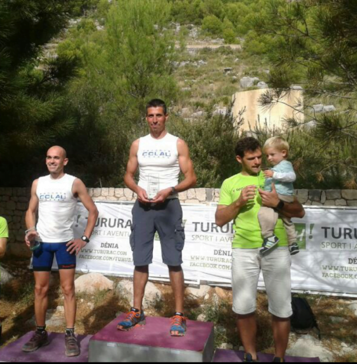 El equipo Esports Colau Trail colocó a dos atletas en el podium