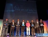 Premiados en la Gala Notables 2012 de Radio Dénia