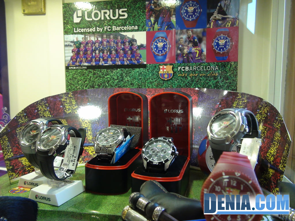Lorus watches in Denia - La Joia