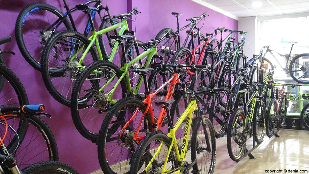 Variedad bicicletas