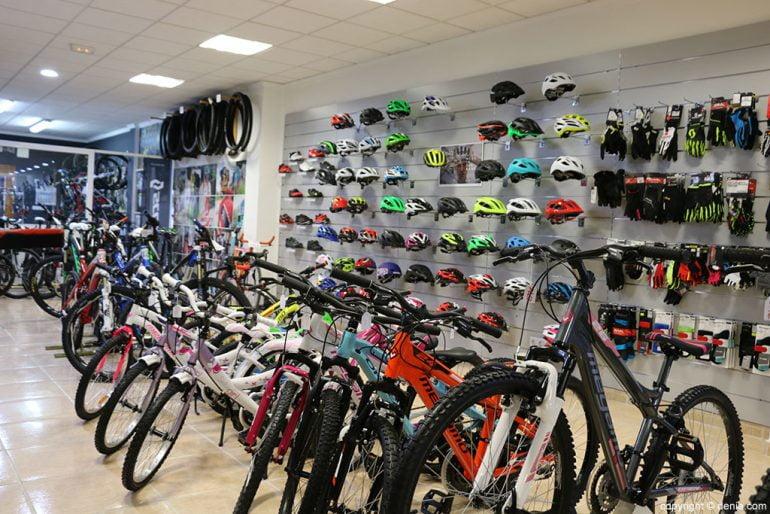 Complementos y bicicletas Cicles Desnivell