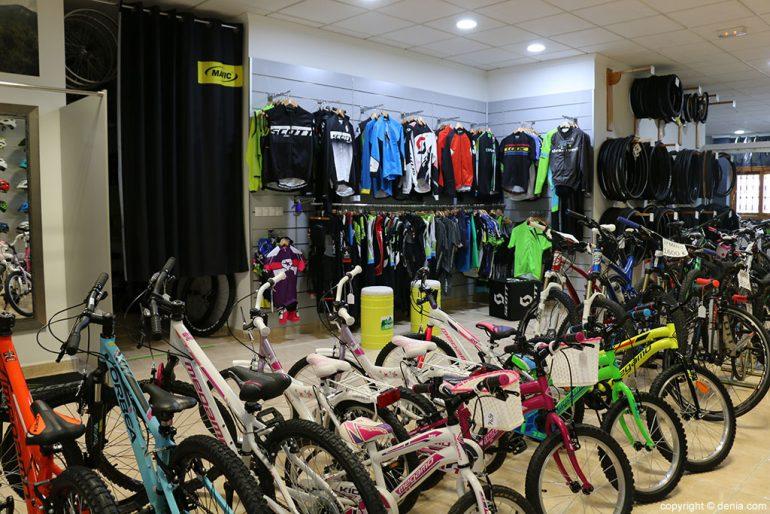 Equipación y bicicletas infantiles Cicles Desnivell