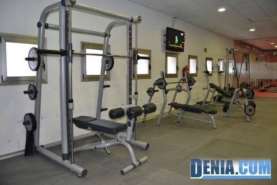 Centro Deportivo Dénia - Sala de máquinas